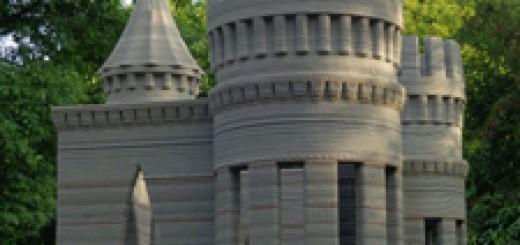 3D打印机_水泥城堡1