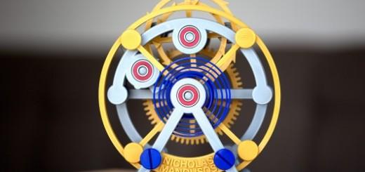 3D打印_陀飞轮表芯_生活与艺术