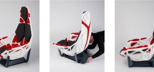 Klara 3d printed car seat