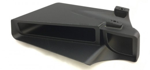 Stratasys 3d printing Mirror Housing