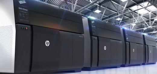 HP Metal Jet 3D printing