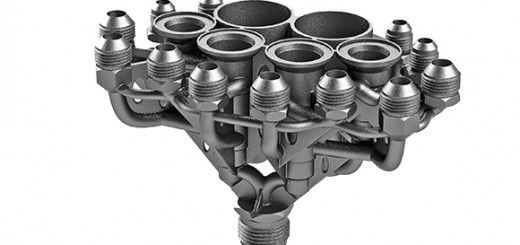 AM integrated parts